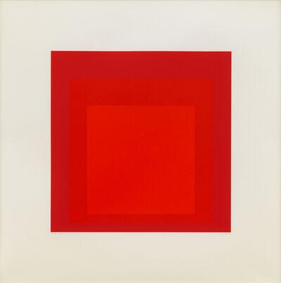 Josef Albers, 'EK Id', 1970