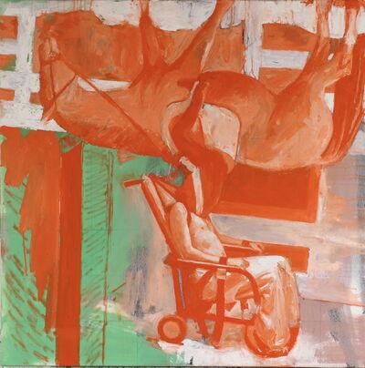 John Keefer, 'Orange Rider', 2020