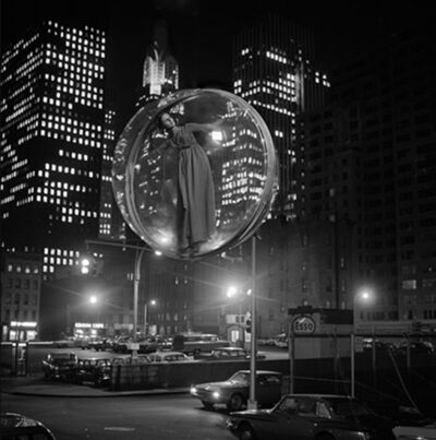 Melvin Sokolsky, 'Free Bubble Parking, New York', 1963