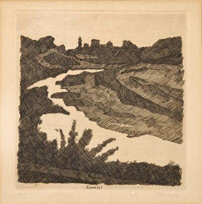 Giorgio Morandi, 'Landscape on the Savena', executed in 1929