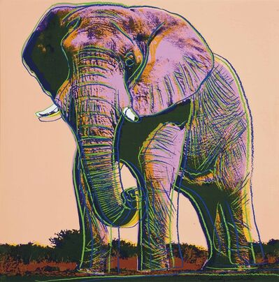 Andy Warhol, 'African Elephant', 1983