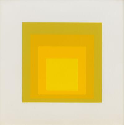 Josef Albers, 'EK Ic', 1970