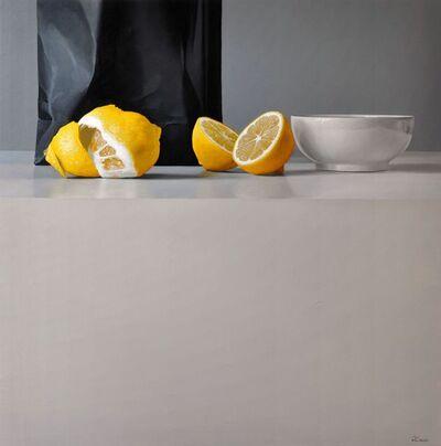 Fernando O'Connor, 'Lemons and Bowl'