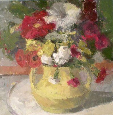 Ginger Levant, 'Yellow Vase', 2016