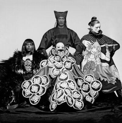 Clive Arrowsmith, 'Yamamoto + Models, VOGUE', 1970
