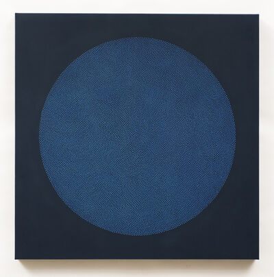 Phil Binaco, 'Indigo Ellipse No. 4', 2018