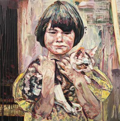 Hung Liu, 'Migrant Child: Kitty', 2017