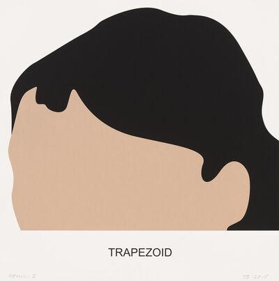 John Baldessari, 'Trapezoid', 2016