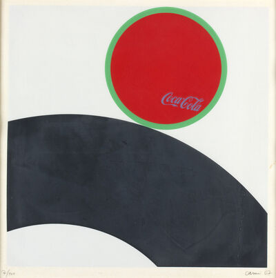 Eugenio Carmi, 'Coca cola', 1967