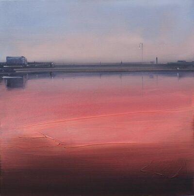 Sigrid Nienstedt, 'Regennasser Platz', 2019