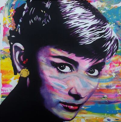 Jack Graves III, 'Audrey Hepburn Icon VII', 2019