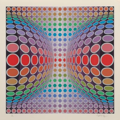 Victor Vasarely, 'Untitled'