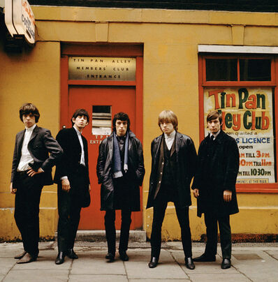 Terry O'Neill, 'Rolling Stones Tin Pan Alley (colour)', 1963