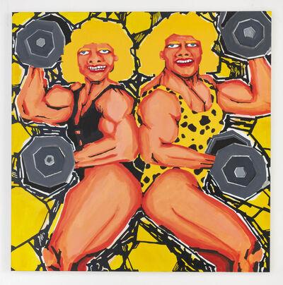 Koichi Sato (b. 1974), 'Muscle Ladies', 2017