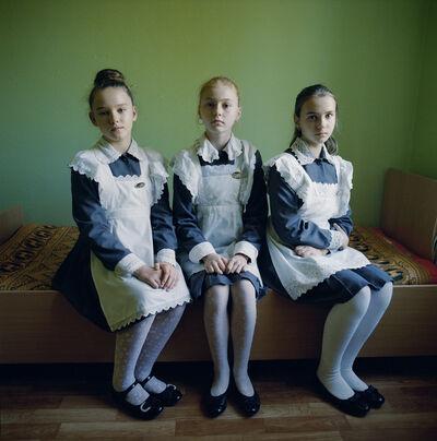 Michal Chelbin, 'Aleira and Friends, Ukraine', 2015