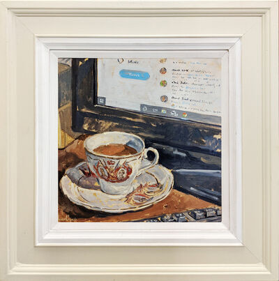 Ian Cryer, 'Twitter Storm & Tea Cup', 2019