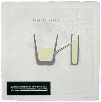 Julião Sarmento, 'Time to Waste', 2007
