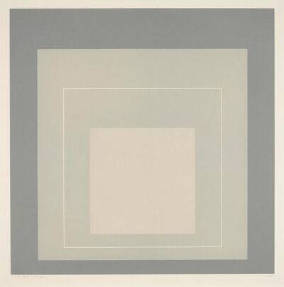 Josef Albers, 'WLS XIV', 1966