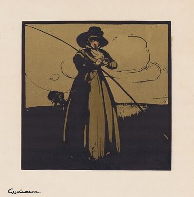 William Nicholson, 'Fishing', 1898