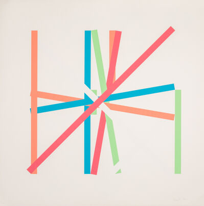 Kenneth Martin, 'Rotation Frankfurt III', 1977