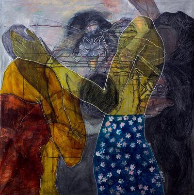Weaam El Masry, 'Red, Blue and Violet Lights', 2015
