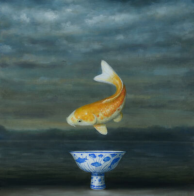 David Kroll, 'Seascape (Koi)', 2020