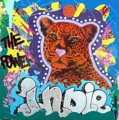 """Indie184, '""""Wild Cat""""', ca. 2018"""