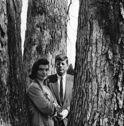 Louise Dahl-Wolfe, 'Senator John F. and Jacqueline Kennedy, Virginia', 1953
