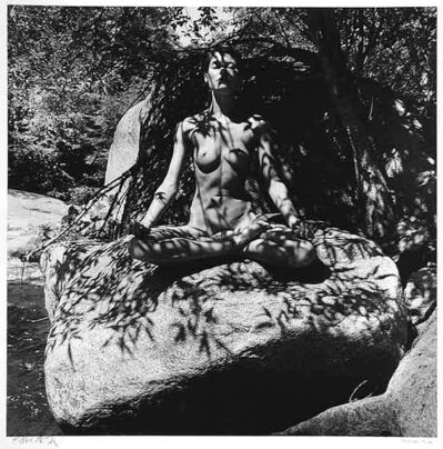Eikoh Hosoe, 'Twinka on Rock in Yosemite', 1974