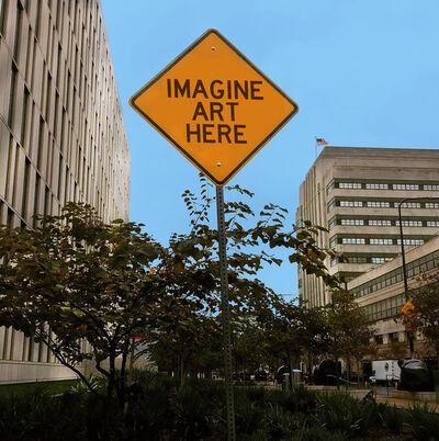 Scott Froschauer, 'Imagine Art Here', 2017