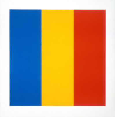Ellsworth Kelly, 'Blue Yellow Red', 1991