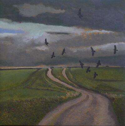 David Inshaw, 'Salisbury Plain II', 2016