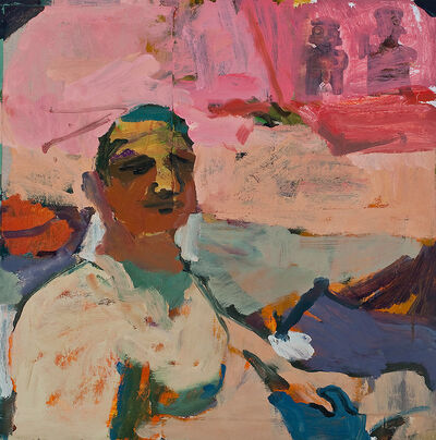 Jennifer Pochinski, 'Portrait with an Orange Sky', 2019