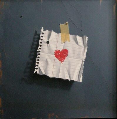 Otto Duecker, 'My Heart (blue)'