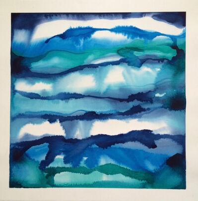 Idoline Duke, 'Blue Strata Square'
