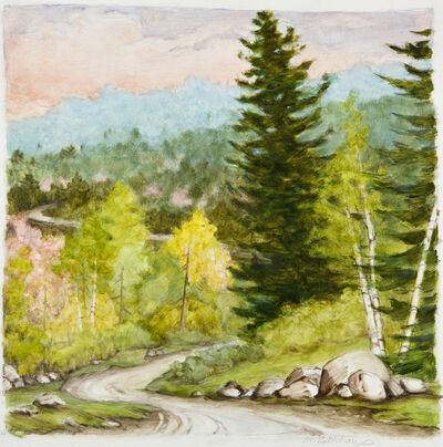 Marguerite Robichaux, 'Spring Road'