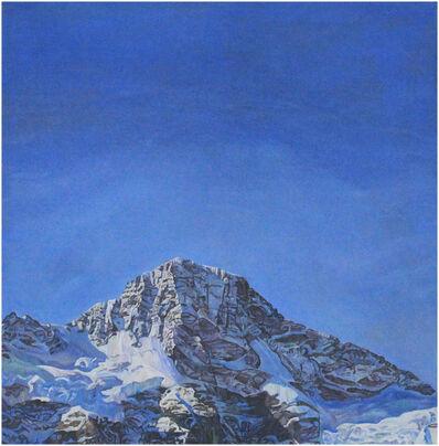 Valentin Roschacher, 'Breithorn mit Wolkenhimmel von Mürren aus', 2007