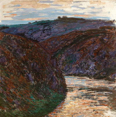 Claude Monet, 'Ravin de la Creuse', 1889