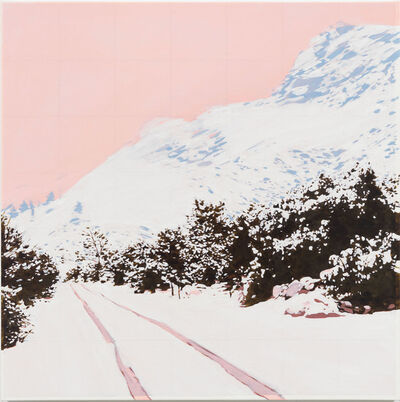 Isca Greenfield-Sanders, 'Pink Mountain', 2019