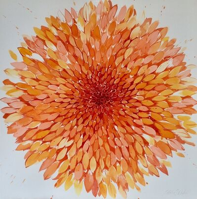 Idoline Duke, 'Big Summer Orange', 2018