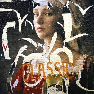 Mimmo Rotella, 'Classic', 1999