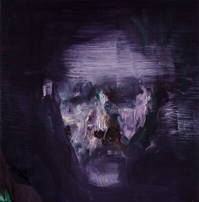 Edwige Fouvry, 'Portrait mauve', 2017