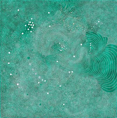 Paula Overbay, 'Turquoise Atmosphere II', 2014