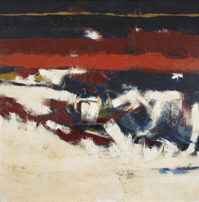 William Radford Thomas, 'Serie de la Tierra; Oleaje', 1962
