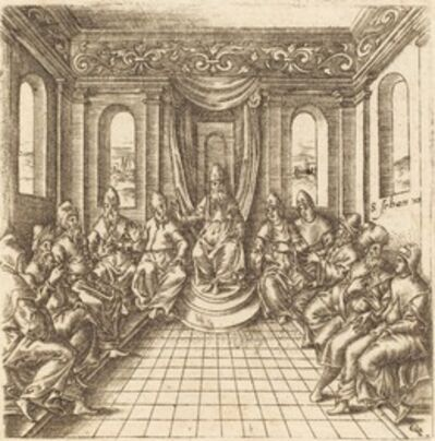 Léonard Gaultier, 'The Chief Priests and Pharisees', probably c. 1576/1580