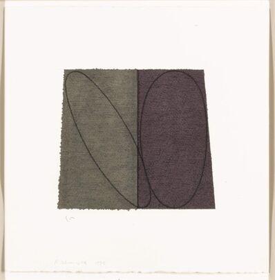 Robert Mangold (b.1937), 'plane/figure', 1993