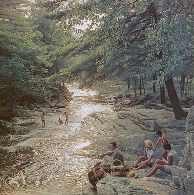 Slim Aarons, 'Campbell Falls Picnic ', 1959