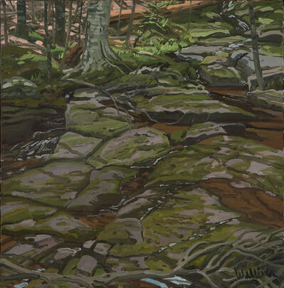 Neil G. Welliver, 'Study for Prospect Brook', 1994