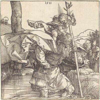 Albrecht Dürer, 'Saint Christopher', 1511