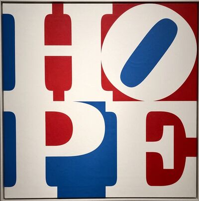 Robert Indiana, 'Hope', 2008